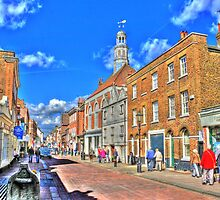 Rochester High  Street (HDR) by larry flewers