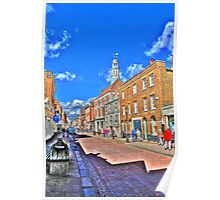 Rochester High  Street (HDR) Poster
