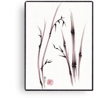 Tenderness  -  original semi e dry brush pen Zen painting/drawing Canvas Print
