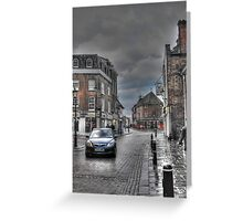Rochester in the rain  Greeting Card