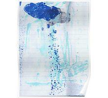 pouring rain Poster