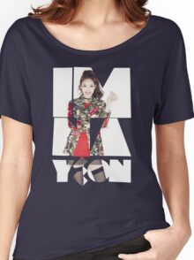 TWICE 'Im Na-yeon' Typography Women's Relaxed Fit T-Shirt