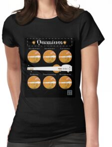"""Sheldon Wears Quantum - ORANGE""© Womens Fitted T-Shirt"