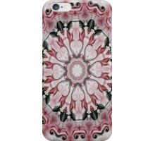 Rococo red Rosette- R102 iPhone Case/Skin