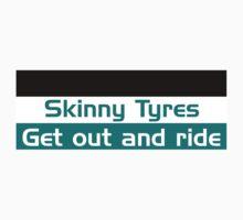 Skinny Tyres logo design by SkinnyTyres