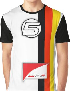Vettel Helmet Graphic T-Shirt