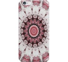 Rococo red Rosette- R104 iPhone Case/Skin