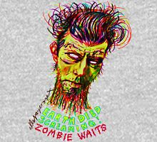 Zombie Waits Womens Fitted T-Shirt