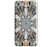 Baroque Earth tones Rosette- R107 iPhone Case/Skin