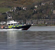 Police launch - Firth of Clyde by wjohnd