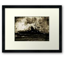 It Won't Be Long Til I'm Home (If You Wait) Framed Print