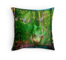 Abstract Nature Throw Pillow
