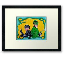 THE GREEN HORNET AND KATO Framed Print