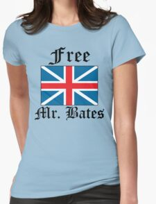 Free Mr. Bates Womens Fitted T-Shirt