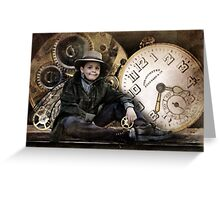 The Little Time Keeper Greeting Card