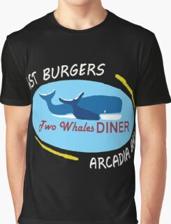 Two Whales Diner Shirt - Life is Strange Graphic T-Shirt