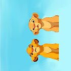 Simba and Nala by schembri211