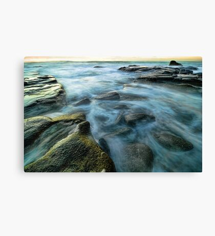 Uncovered Canvas Print