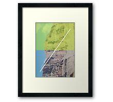 Vertical Landscape Framed Print