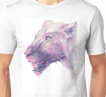 Multicoloured Lioness  Unisex T-Shirt