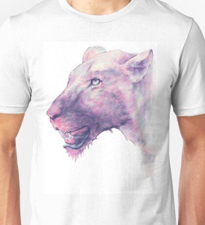 Multicoloured Lioness  Unisex T-Shirt
