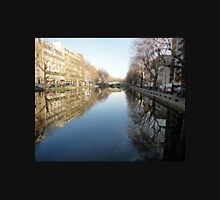 Water Reflections, Canal, Paris, France 2012 Unisex T-Shirt