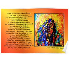 Poetry in Art - I Could... Poster