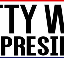 Fetty Wap For President Sticker