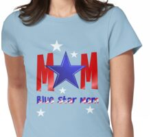 A Blue Star Mom-lettered Womens Fitted T-Shirt