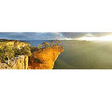 Hanging Rock, Blue Mountains, Australia Photographic Print