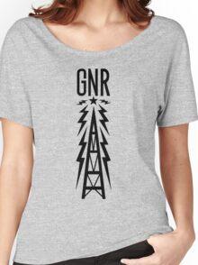Galaxy News Radio - Black Women's Relaxed Fit T-Shirt