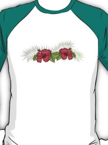 Hibiscus and Palms 1 T-Shirt