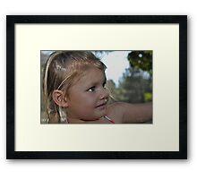 California Blond Framed Print