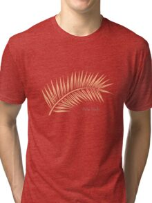 Palm Leaf 1 Tri-blend T-Shirt