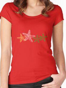 Starfish 2 Women's Fitted Scoop T-Shirt