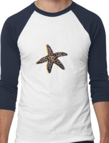 Shellfish 1 Men's Baseball ¾ T-Shirt
