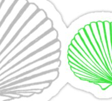 Shells 1 Sticker