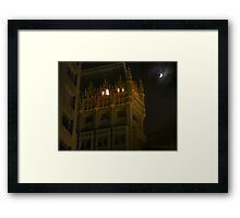 Night Time Downtown Oakland  Framed Print