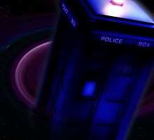 Tardis in Space by drwhobubble