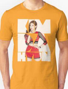 TWICE 'Kim Da-hyun' Typography T-Shirt