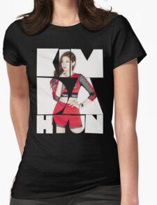 TWICE 'Kim Da-hyun' Typography Womens Fitted T-Shirt