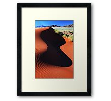 Shaped by the Wind and the Sun Framed Print