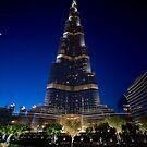 Burj Khalifa After Dark by Michael Powell