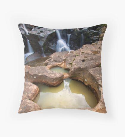 Mclarens crators Throw Pillow
