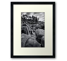 Mclarens alignment Framed Print