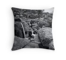 Mclarens alignment Throw Pillow