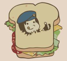 Resident Evil - Jill Sandwich by DaKirbyDood