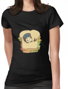 Resident Evil - Jill Sandwich Womens Fitted T-Shirt