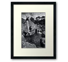 Mclarens whirlpool Framed Print