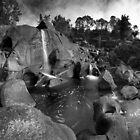 Mclarens autumn casscade by Ken Wright